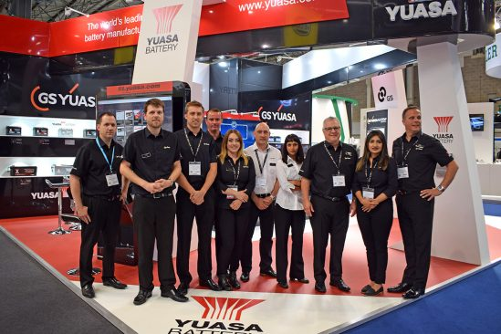GS Yuasa enjoy another successful year at Automechanika, Birmingham