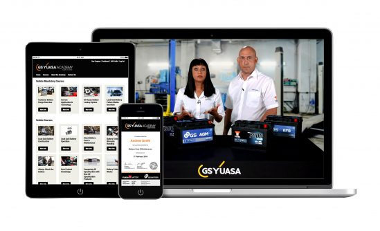 Launch of the GS Yuasa Academy online learning platform will revolutionise battery training