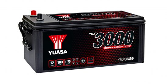YBX3629 commercial vehicle battery