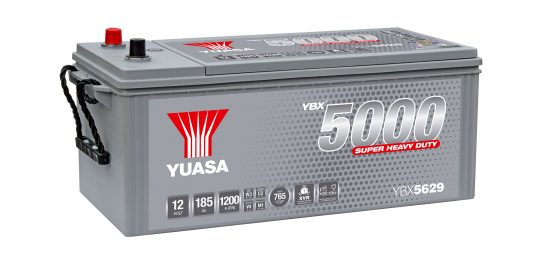YBX5629 commercial vehicle battery