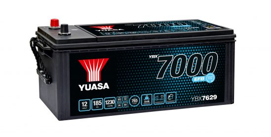 YBX7629 commercial vehicle battery