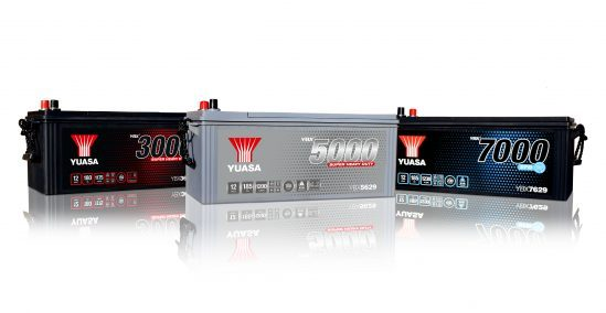 Yuasa delivers new YBX Super Heavy Duty  battery range for commercial vehicles