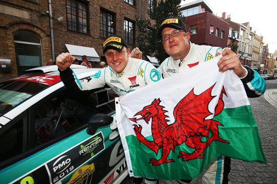 Win for Matt Edwards and co-driver Patrick Walsh
