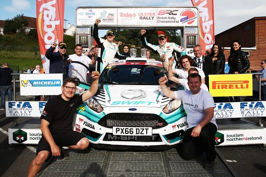Yuasa backed Edwards' title aspirations kick-up a gear after Ulster Rally win