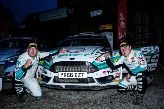 Yuasa supported Edwards makes it back-to-back British Rally Championship titles