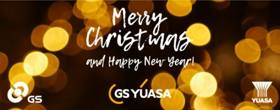 A Christmas update from GS Yuasa