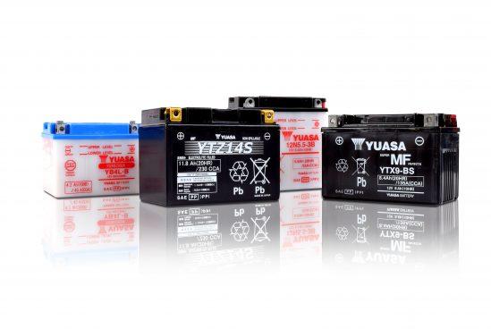 Yuasa motorcycle batteries