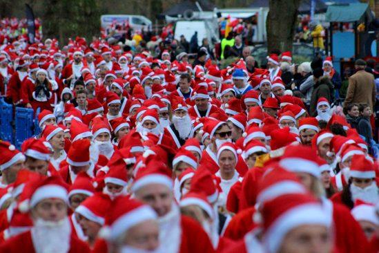 3000 santa heads