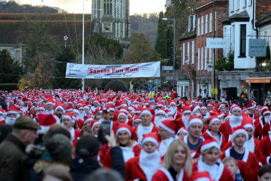 Yuasa power 3,000 Santas in Rotary Charity Fun Run