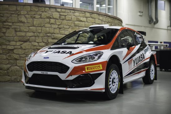 Matt Edward's Yuasa-backed Fiesta R5 MkII