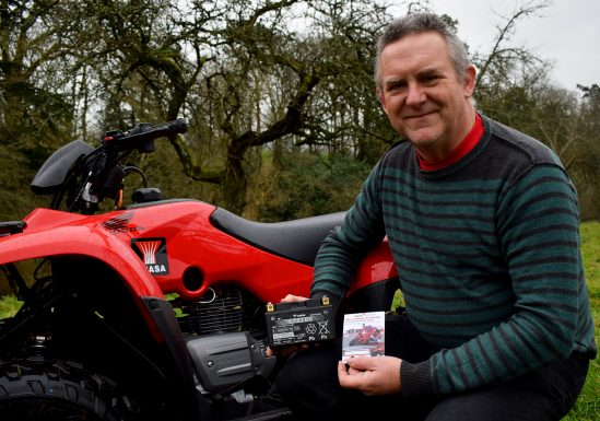 Keith Rainford, winner of Fourtax ATV