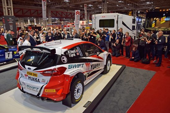 Yuasa Launch at Autosport International (3)
