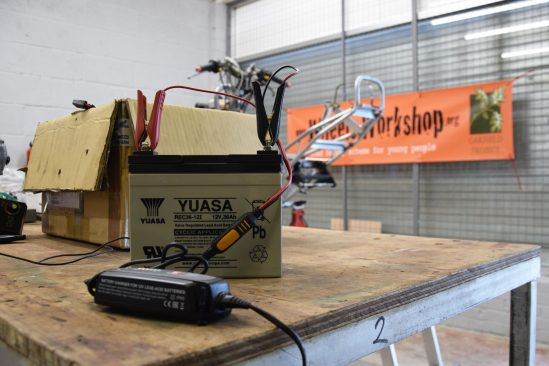 Battery manufacturer GS Yuasa offer support to youth engagement project