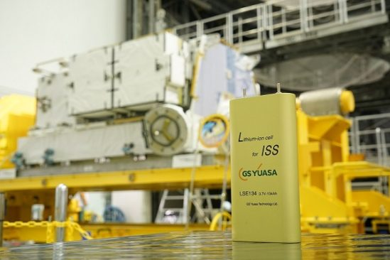 GS Yuasa Lithium-ion cells for the International Space Station