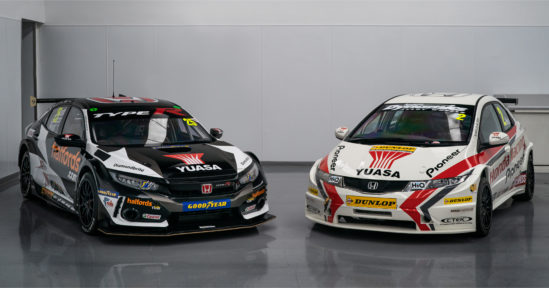 Yuasa gear up for the return of BTCC