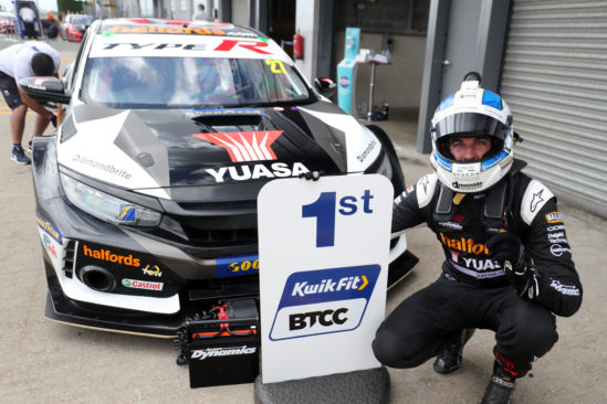 Winning start puts Halfords Yuasa Racing on top at Donington as BTCC returns