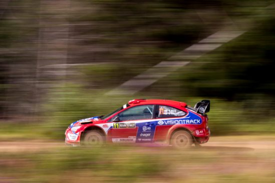 Yuasa-backed Bird bags win at M-Sport Return to Rally Stages