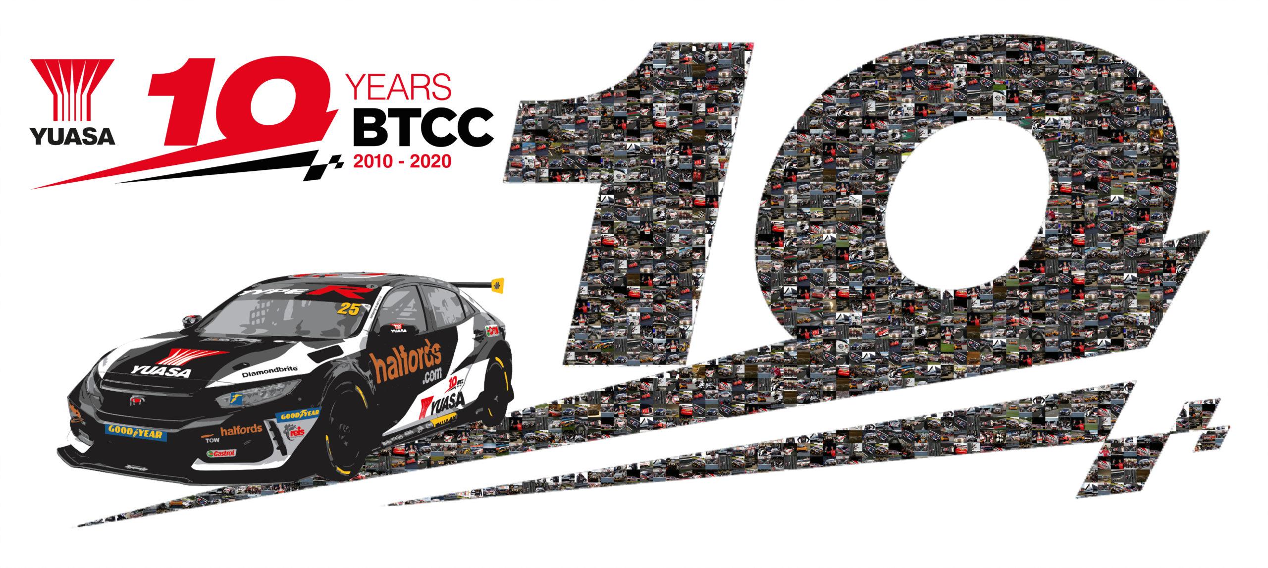 Yuasa - 10 years in BTCC