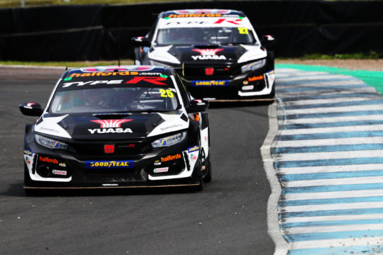 Solid points for consistent Halfords Yuasa Racing duo at Knockhill BTCC