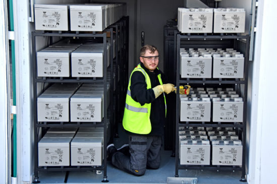 GS Yuasa batteries installed in ground-breaking Portsmouth Port electric vehicle charging station