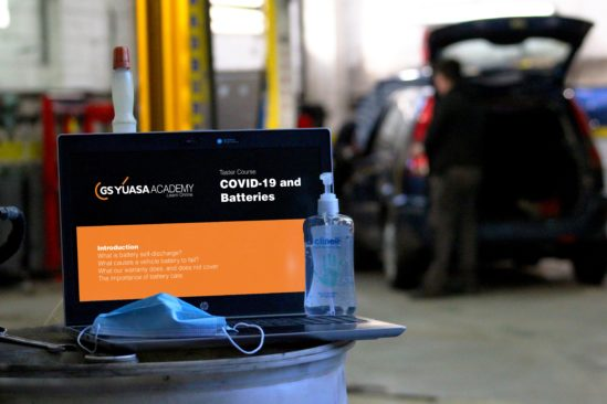 GS Yuasa launch free online COVID-19 and Batteries training course for workshops and distributors