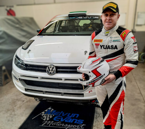 Yuasa back British Rally Champion Matt Edwards as he contends for third BRC title in all-new Volkswagen Polo