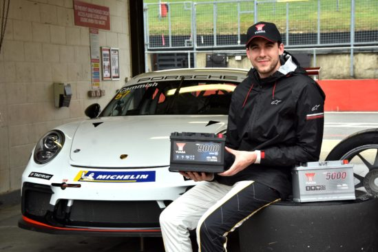 Yuasa continue partnership with Dan Cammish as he moves to Porsche Carrera Cup GB