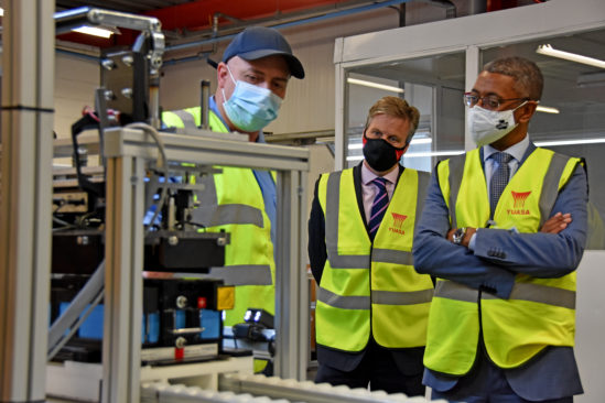 GS Yuasa set to create more than 100 new jobs with substantial investment and Welsh Government support at their factory in Ebbw Vale