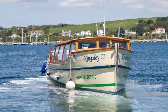 Emission-cutting Cornish passenger ferry powered by GS Yuasa showcased as G7 summit begins