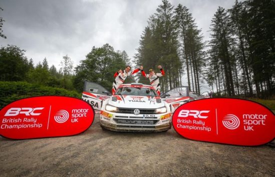 Matt Edwards takes British Rally Championship lead after stunning victory on the Nicky Grist Stages