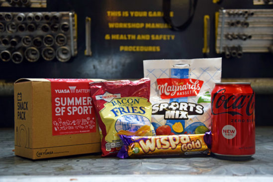 Celebrate a summer of sport with free Yuasa snack packs