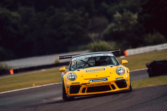 Cammish remains in Carrera Cup contention after Oulton Park podium finish