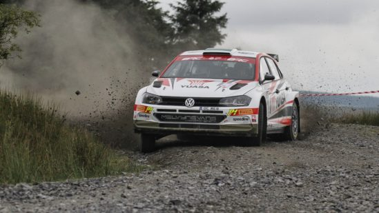 Matt Edwards ready to reignite his British Rally Championship title challenge on the Trackrod Rally Yorkshire