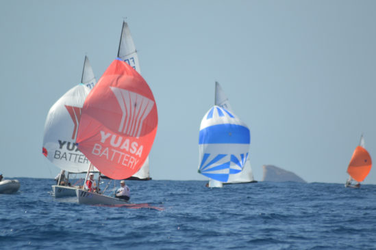 Yuasa sail to success in the Flying Dutchman World Championships